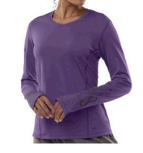 Sleeves too long purple